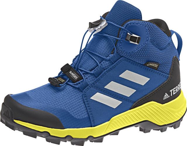 adidas TERREX Mid GTX Shoes Kinder blue beautygrey one
